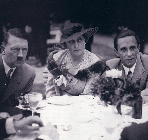 Image result for Pinterest Picture - Hitler and Goebbels dining inside the Fürerbunkeer