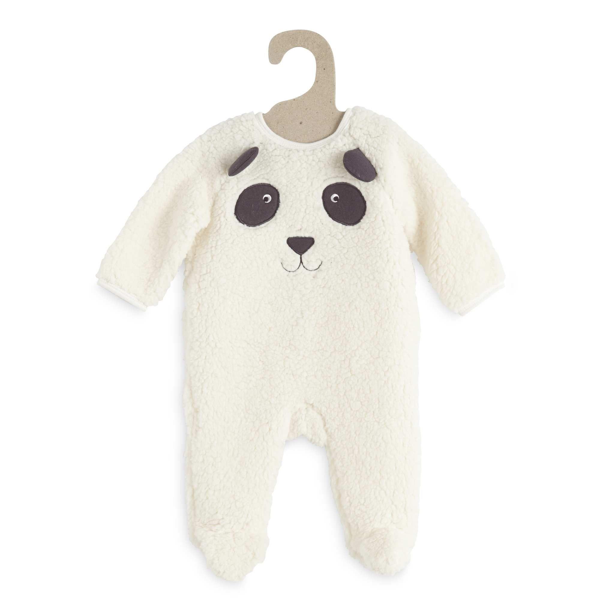0c4f8a833a0 Sobrepijama de borreguito con cabeza de oso panda Bebé niño - Kiabi - 12