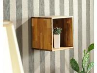 Dänisches Bettenlager Royal Oak Regal Cube 1er Unbenutzt