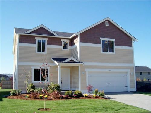a brand new home in gig harbor