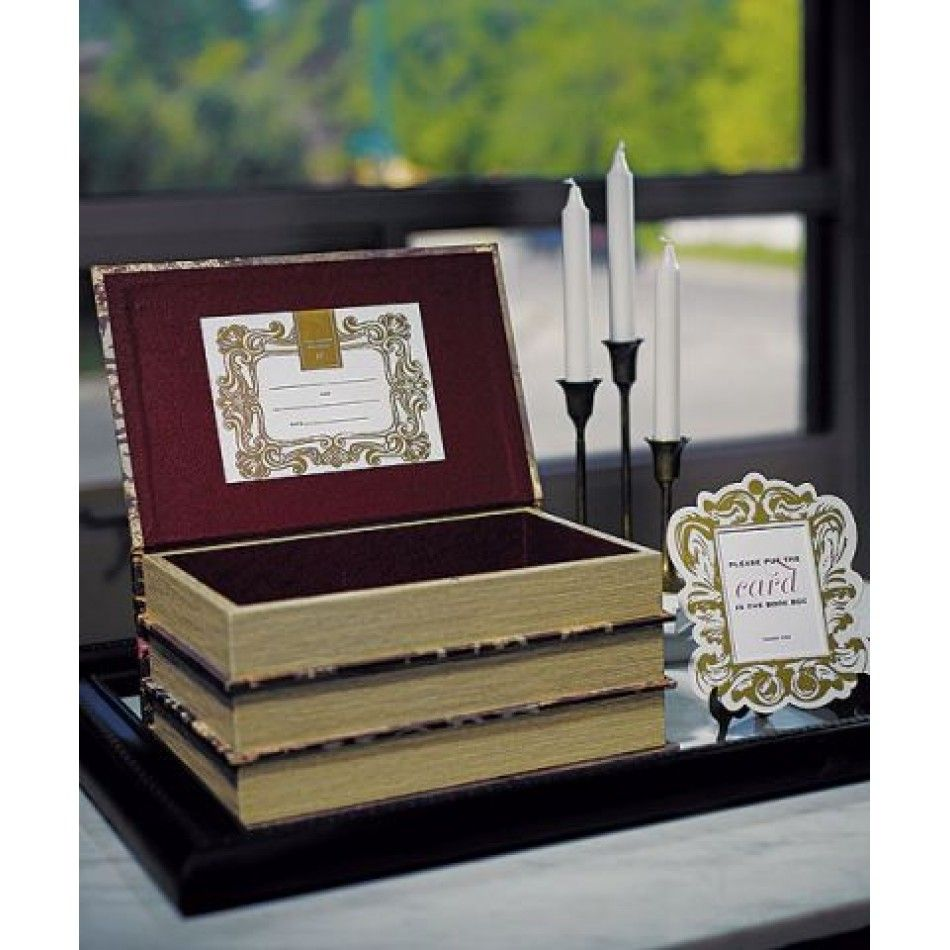 Ericka this is nice for your wedding cards books worth reading