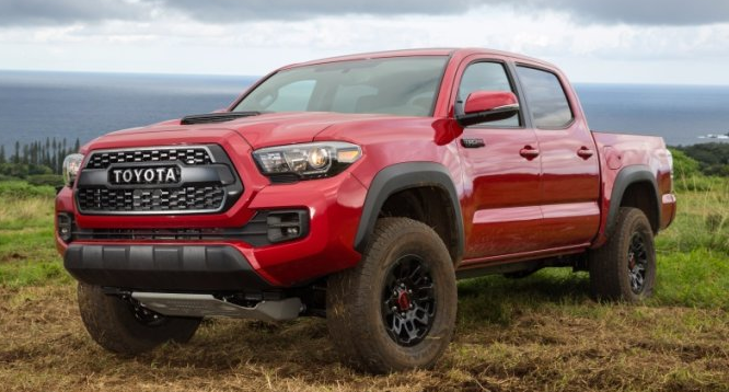 2018 Toyota Tacoma Colors Release Date Redesign Price Toyota Is