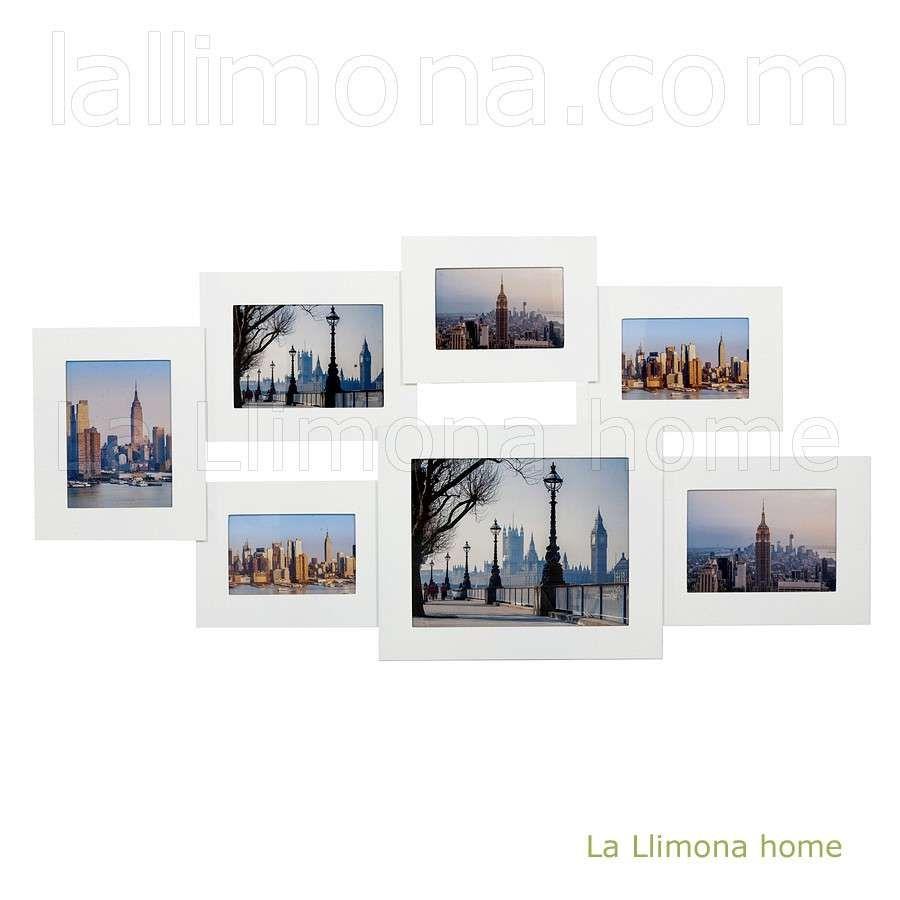 Marco portafotos multiple dreams de pared con 7 fotos de color ...
