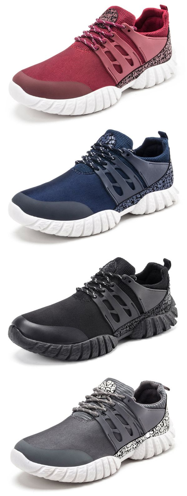 Men Breathable Light Weight Sport Running Sneakers is part of Clothes Mens Sport - Visit Newchic to receive your new user US$60 gift! Get free shipping and a 14 days return or refund guarantee  @Newchic, your first choice for online shopping