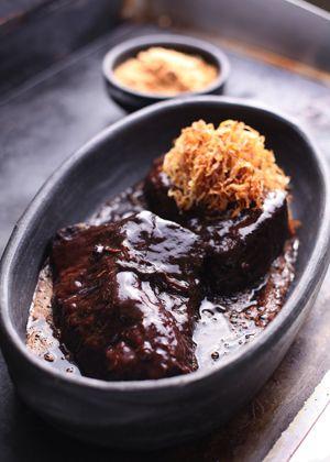 Picanha garimpeiro com cebola frita e farofa