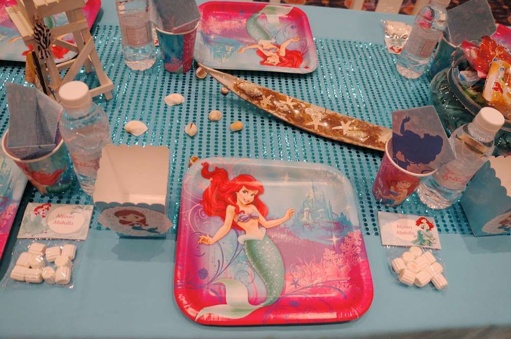 The Little Mermaid Birthday Party Ideas | Photo 1 of 65 | Catch My Party