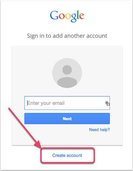 How Do I Add An Additional Gmail Account Omug Tech Blog Gmail Sign Google Sign In Gmail Sign Up