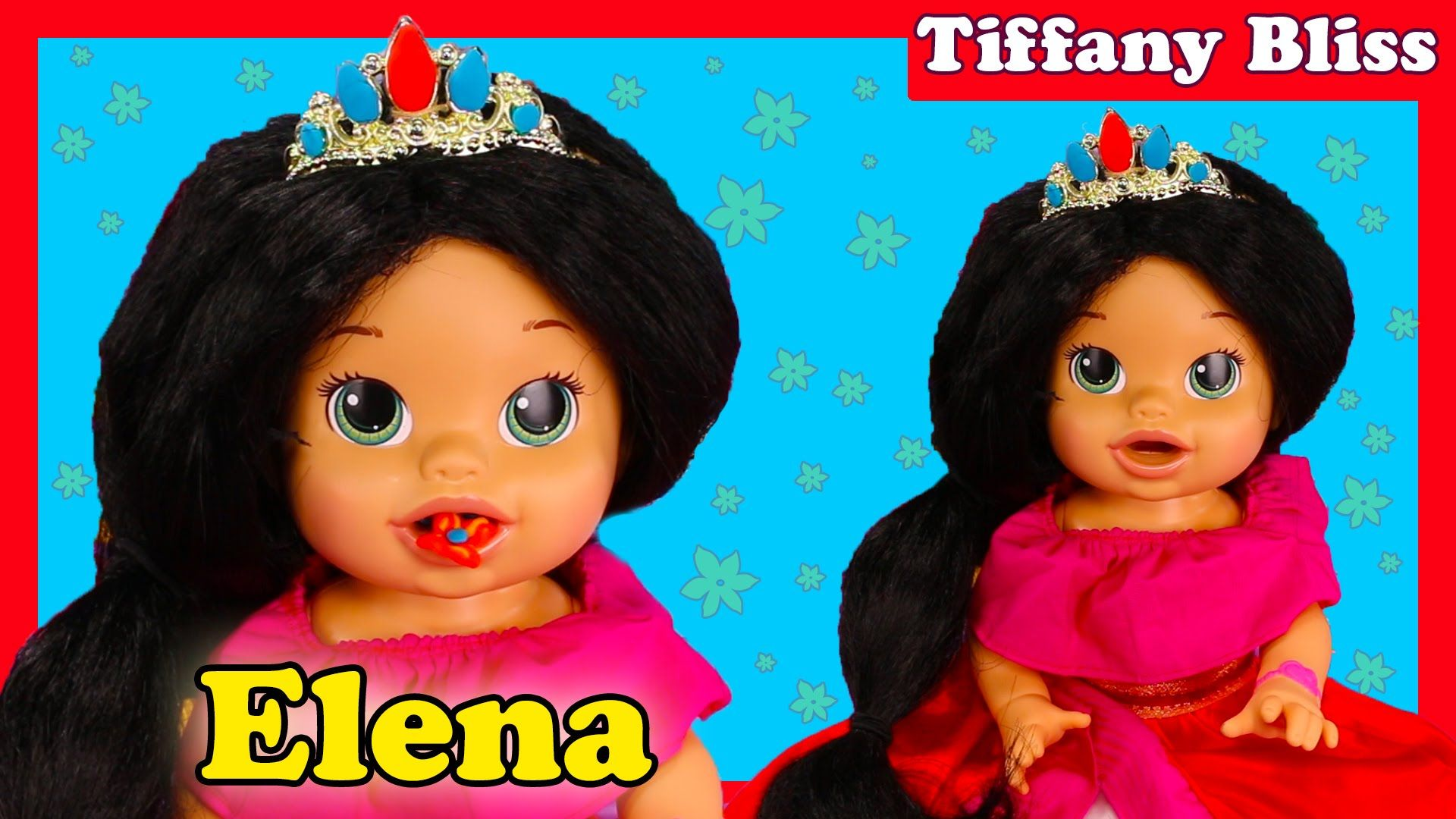 Princess Elena Of Avalor Custom Baby Alive Doll Eats Play Doh Poops Blind Bags Surprise Toys Baby Alive Dolls Baby Alive Custom Baby