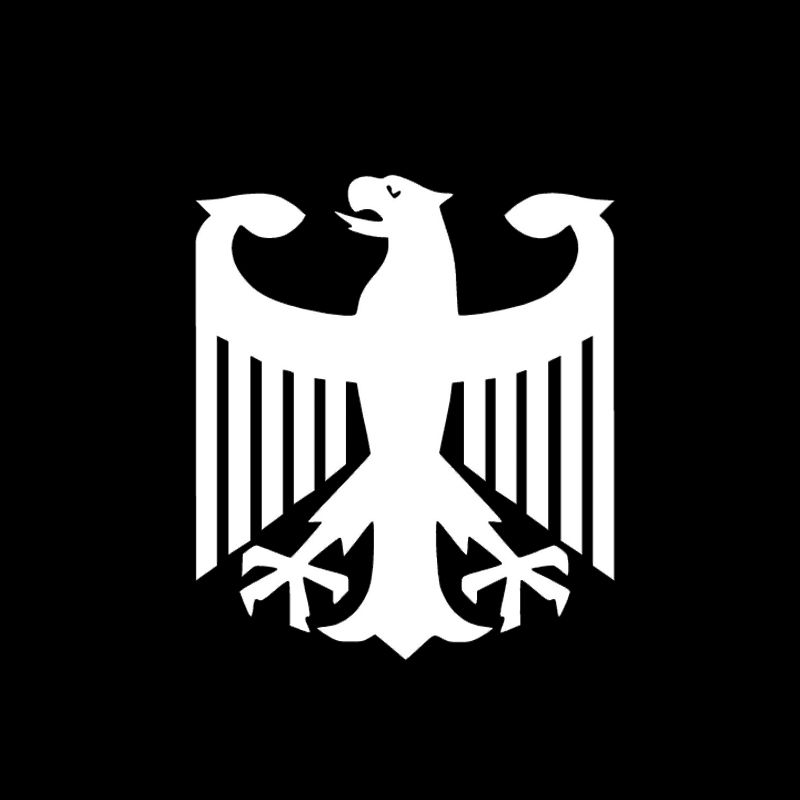 Find more stickers information about german eagle vinyl decal car window bumper sticker high quality