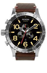 51-30 Chrono Leather   Watches   Nixon Watches and Premium Accessories