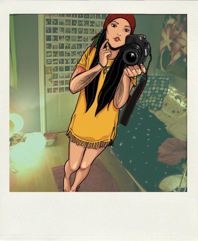 Disney Princess Cam Whore - Pocahontas