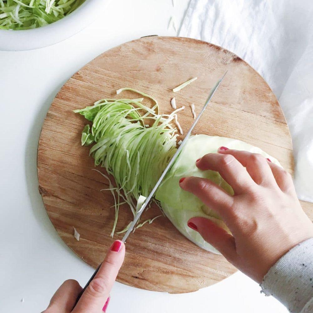 Spitskool recept & hoe te snijden en bereiden | Made by Ellen