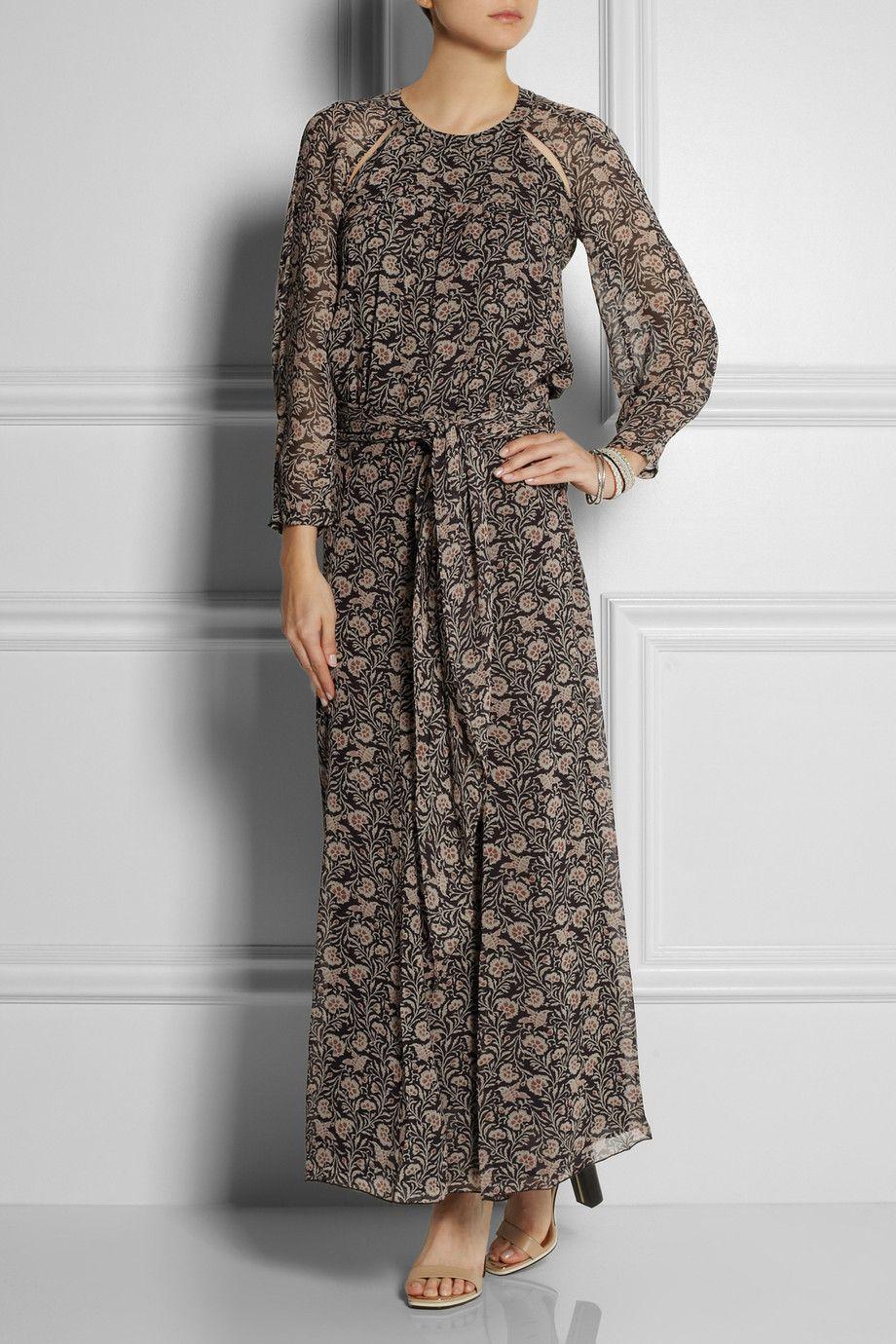 Isabel Marant Étoile - Drecious printed georgette maxi dress