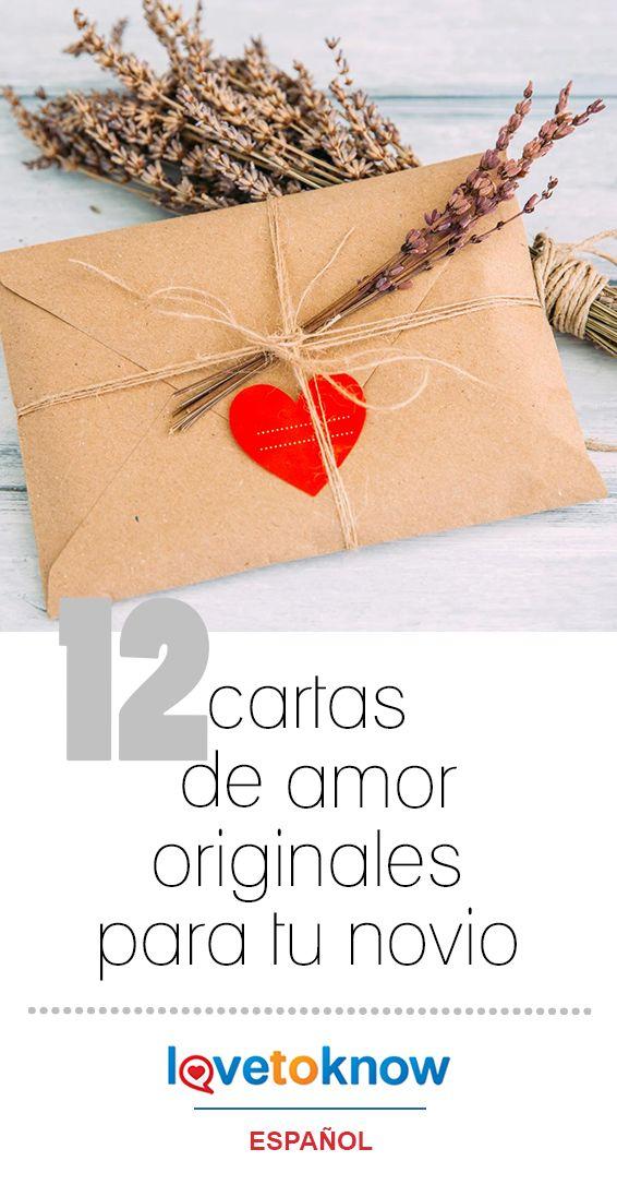 12 cartas de amor originales para tu novio