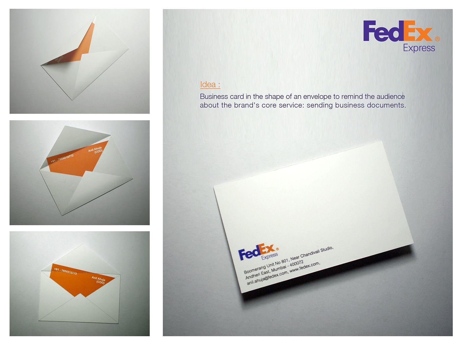 FedEx: Envelope   Business Cards   Pinterest   Envelopes, Direct ...