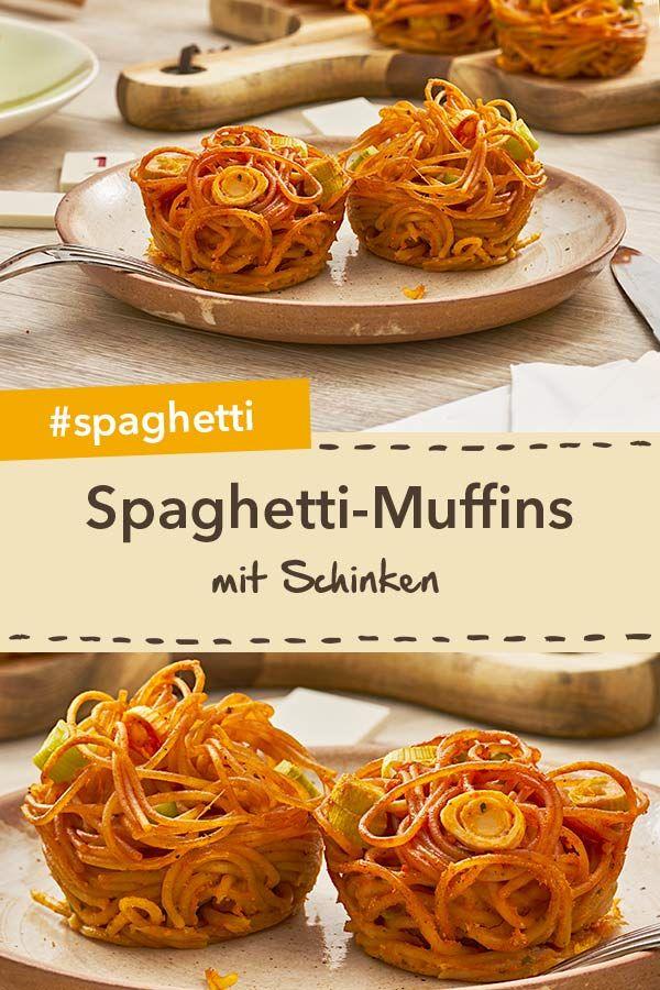 Kinderleichte Spaghetti-Muffins