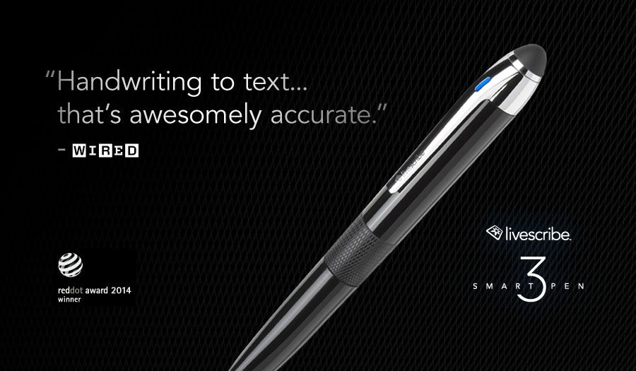 Livescribe Never Miss A Word Assistive Technology Devices Education Essentials Smart Pen