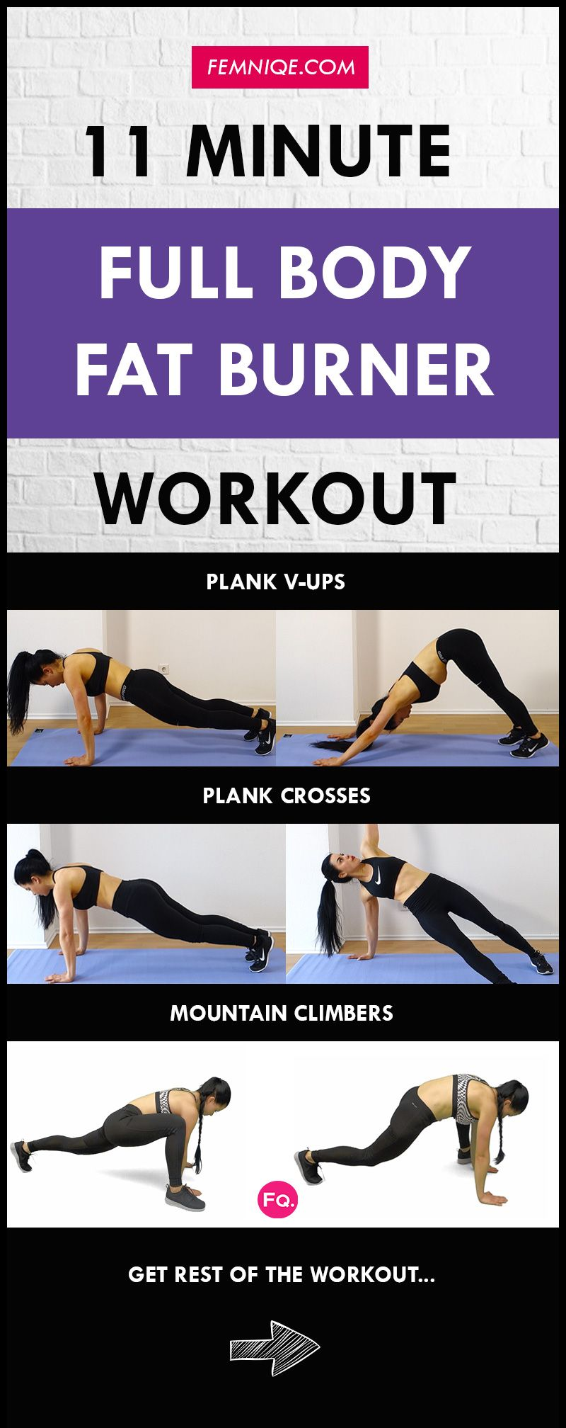 Pin On Full Total Body Workouts Fat Burners