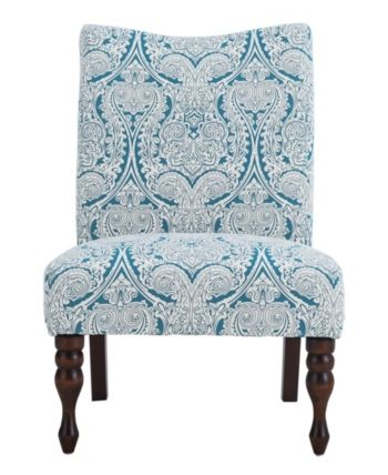 Best Payton Accent Chair Paisley Blue Blue In 2019 Accent 400 x 300