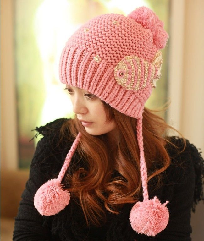 2013 otoño invierno de punto sombrero de lana para las mujeres señora tapas  gorro de punto 83084a16326