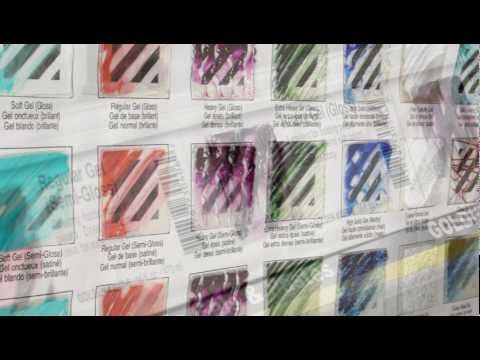 """Great tool to know about gel mediums and the many ways you can use with your Gelli printing plate! """"Tour of Gel Mediums with Patti Brady - YouTube"""""""