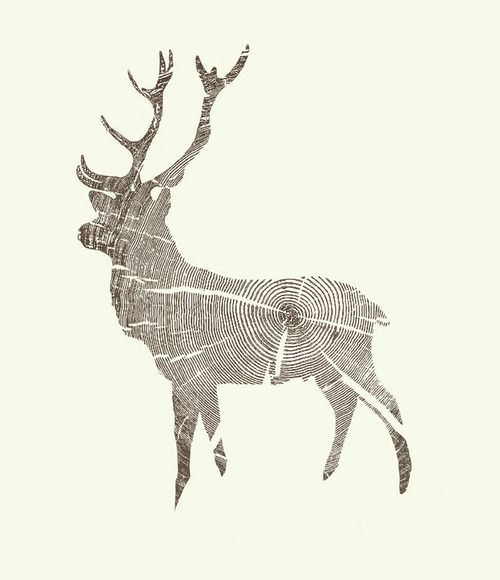 Wood grain stag by kyle naylor.