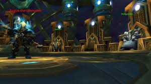 how to do the seat of the pantheon world of warcraft michael