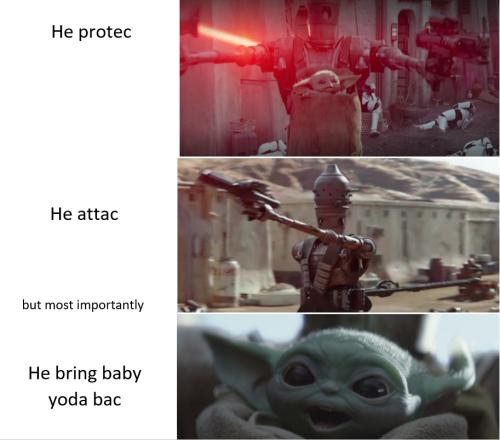 Ig 11 My Duty Is To Nurse And Protect Star Wars Humor Star Wars Memes Star Wars Fandom