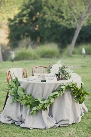 Hochzeitstrend Sweetheart Table