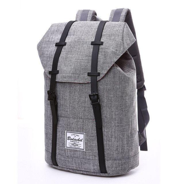 c8930fbd1b64 Bodachel Backpack Men High Quality Male Backpack School Bags Large Capacity  Bagpack Notebook Backpacks Waterproof Oxford 21L