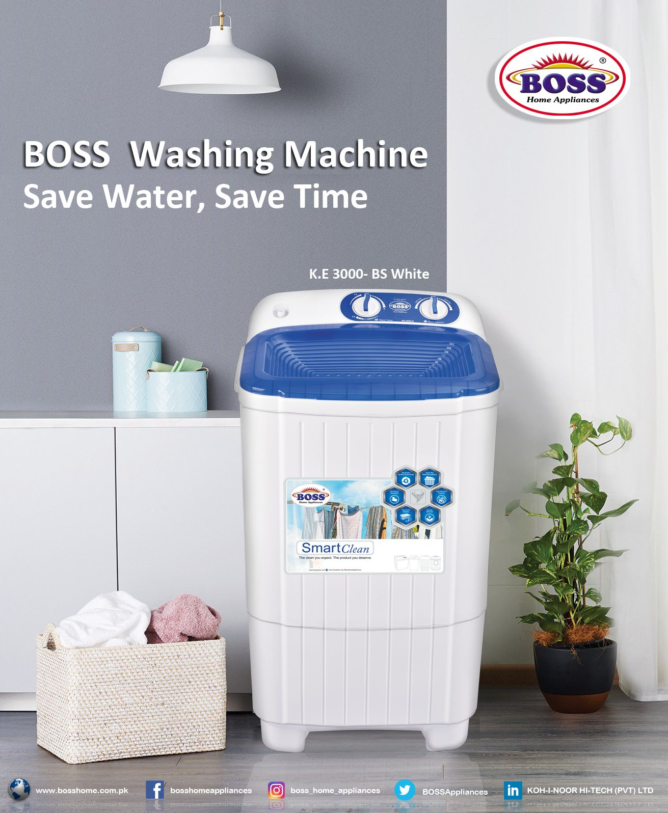 Pin By Boss Home Appliances On Products Home Appliances Washing Machine Save Water