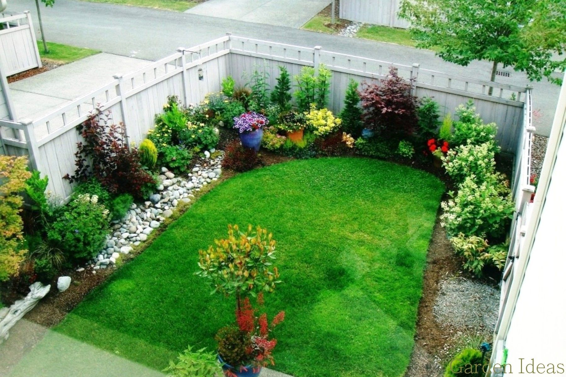 Wonderful home garden ideas Photo Small Garden Pictures