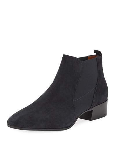 a80fd177a41a Aquatalia Falco Suede Gored Booties | Products | Travel wardrobe ...