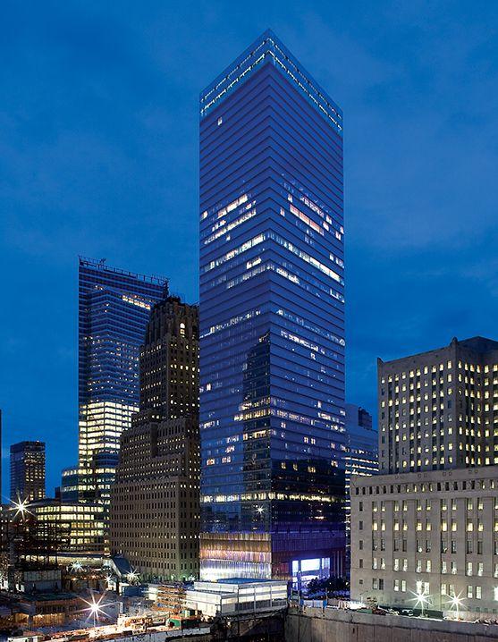 Certified LEED® Gold, 7 World Trade Center utilizes Draper
