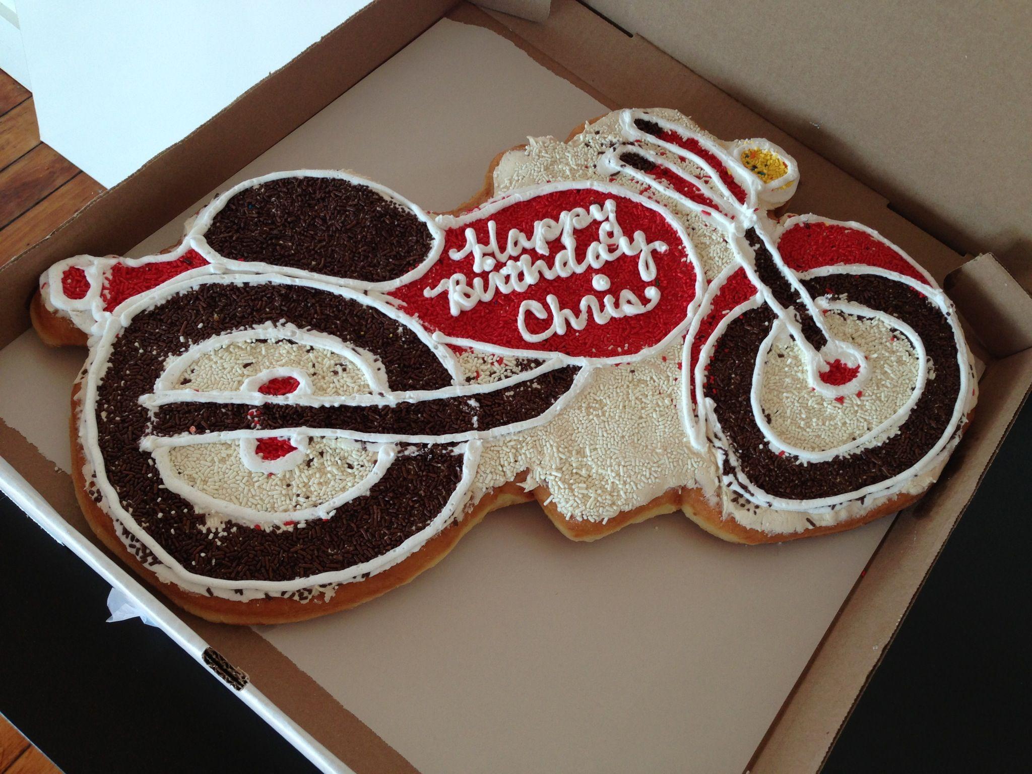 Happy Birthday Chris Cake Donuts Happy Birthday Birthday