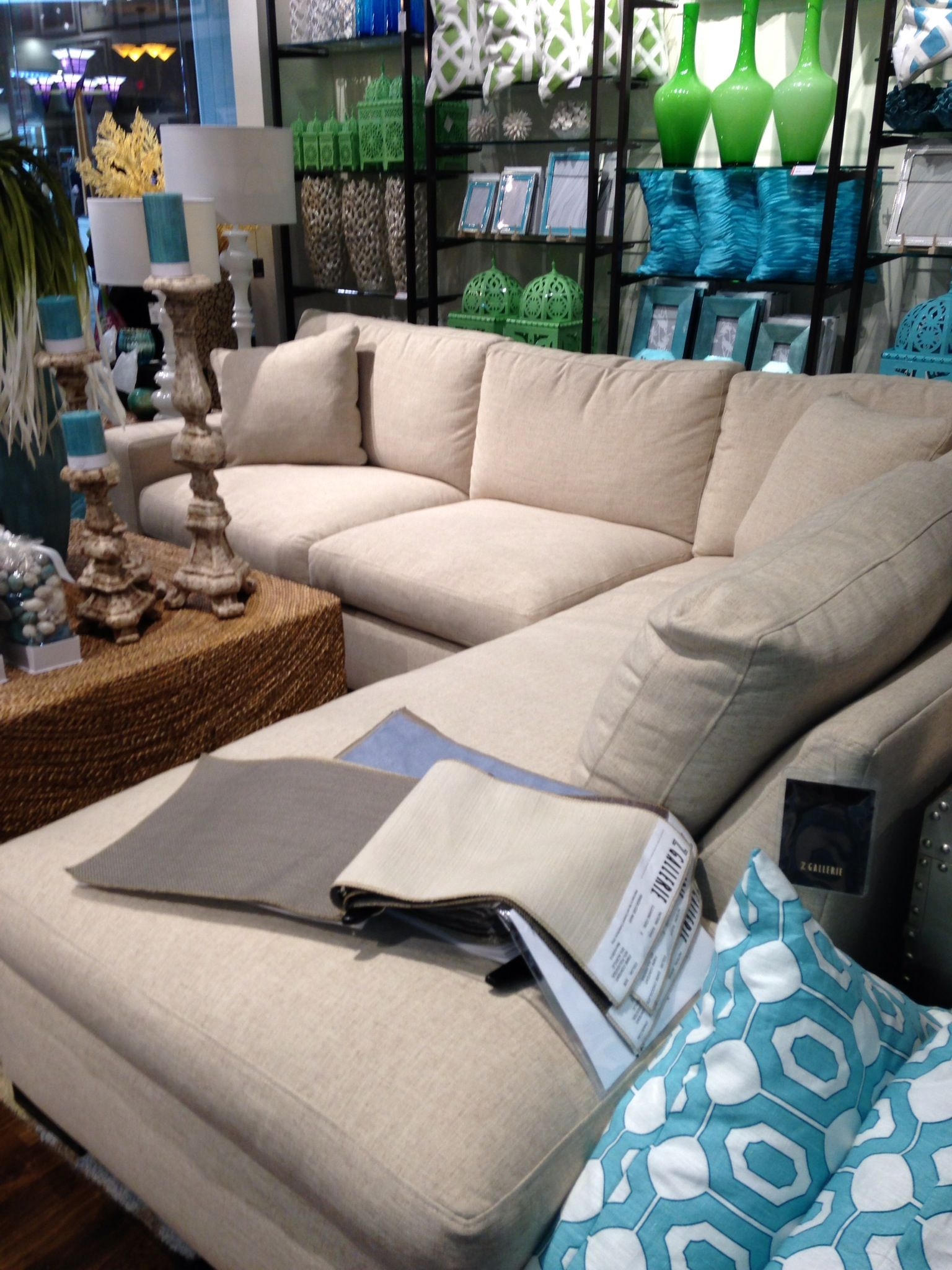 Sectional Cameron Z Gallerie For the Home Pinterest
