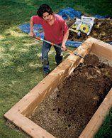Wie man ein erhöhtes Pflanzbeet baut #erhöhtepflanzbeete
