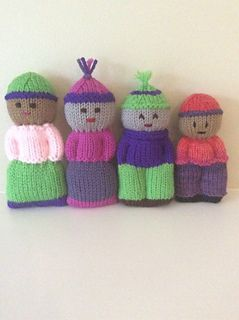 Ravelry: Izzy Doll - knitted comfort doll pattern by Shirley O'Connell