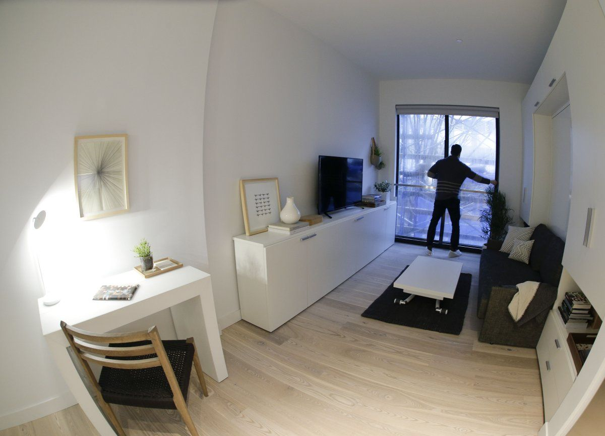 Inside Nyc S First Micro Apartment Building Where 60 000 People