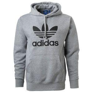 adidas Soccer Mens Originals Trefoil Logo Hoody | Casaco