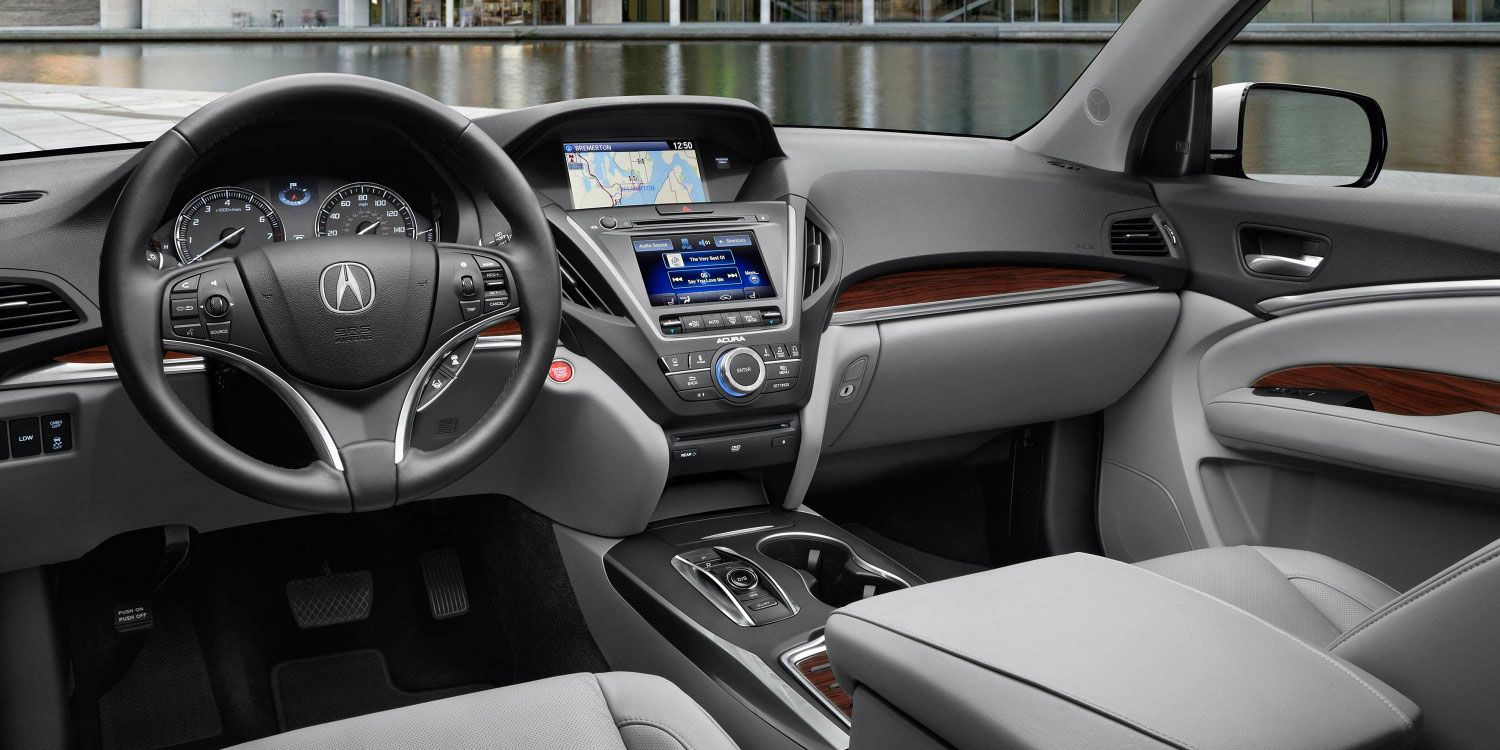 2016 Acura MDX with Advance and Entertainment Packages and