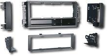 Metra - In-Dash Deck Installation Kit for 2007-2008 Chrysler/Dodge/Jeep Vehicle Models - Black
