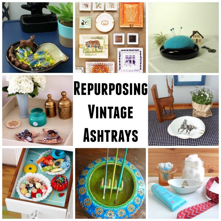 Vintage  Eclectic Ash Tray