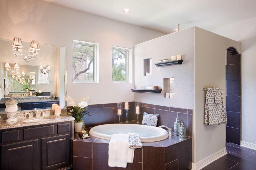 San Sebastian Master Bathroom by Sitterle Homes