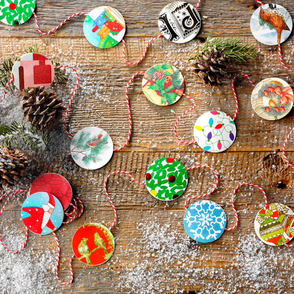 10 Holiday Crafts to Make Using Old Christmas
