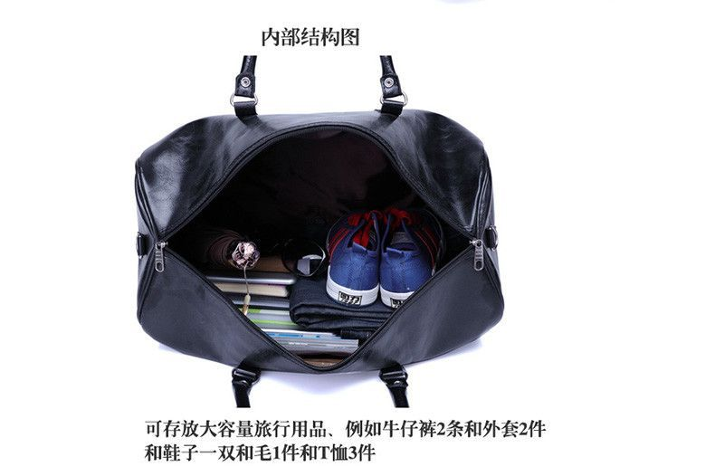 2016 fashion Men Travel Bags Large Capacity Women Luggage Travel Duffle Bags High-grade leather Travel totes