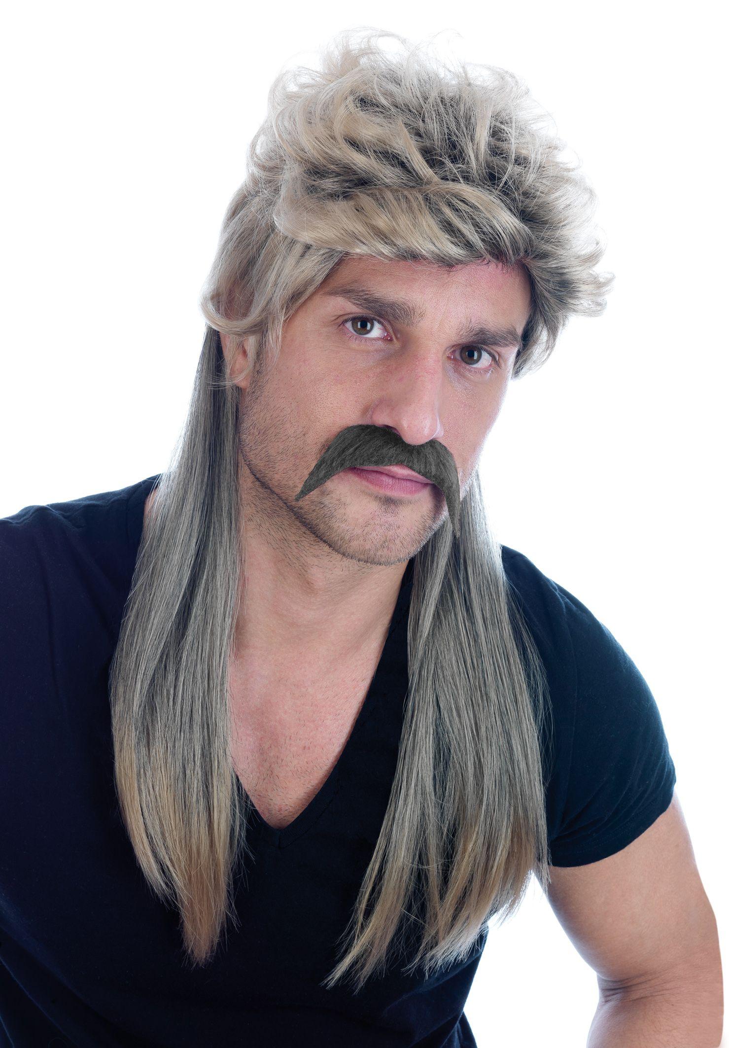 Blonde Mullet Wig 80s rock Mullet wig, Dress
