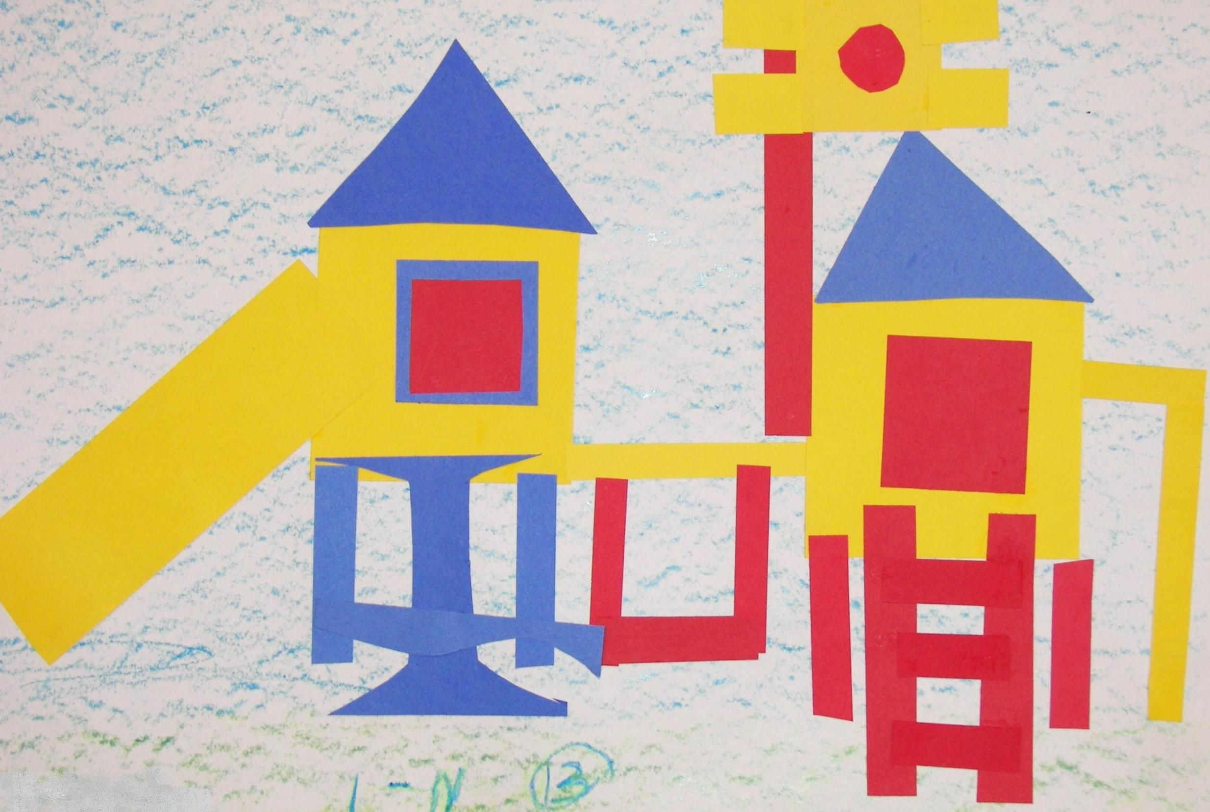 Primary Color Playgrounds From Art