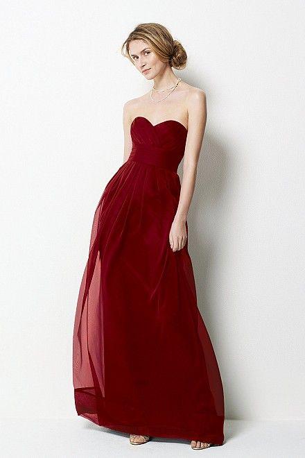 69d6d0d8b75d vestido bordo.. | My Style | Vestidos, Vestidos de fiesta y Vestidos ...