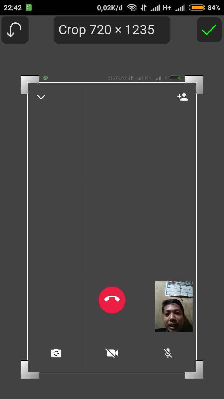 Mentahan Whatsapp Video Call Template Png R Template Pertahanan Video